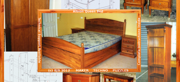 Albion Queen Bed