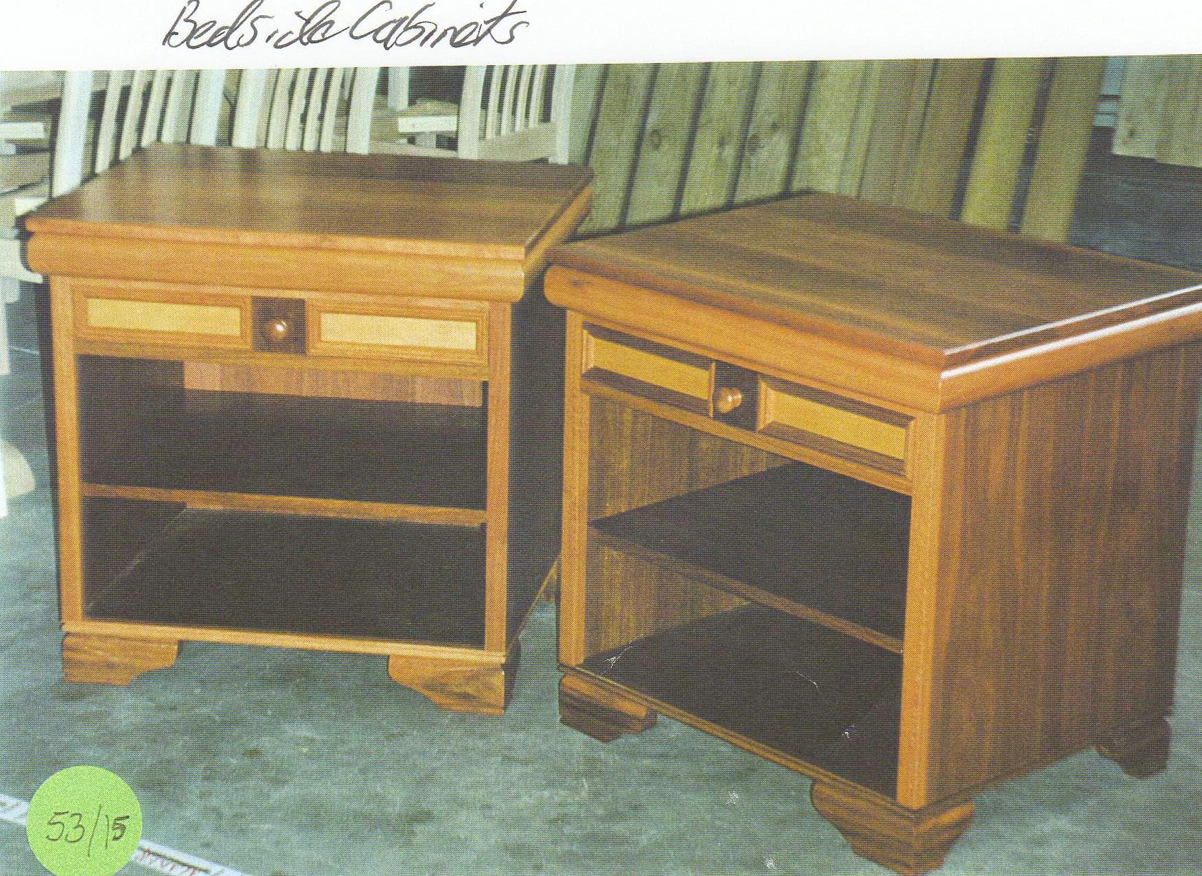 Miko bedside cabinet diy furniture plans technical puzzles for Bedside cabinet plans