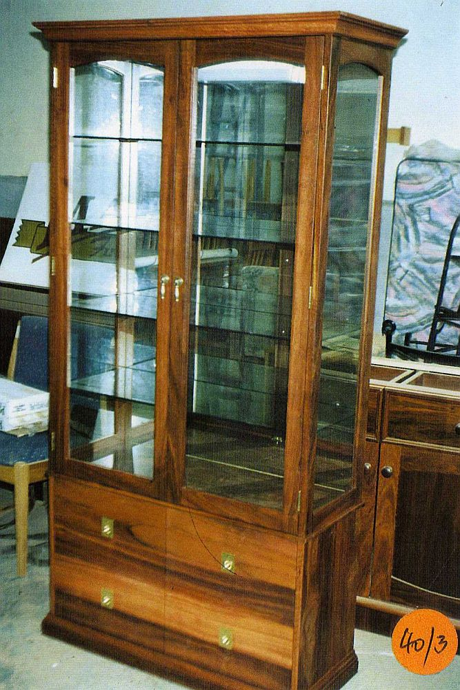 4 Drawer Display Cabinet Diy Furniture Plans Amp Technical Puzzles